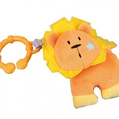 happy people kinderwagenhanger leeuw 10 cm geel 321441 1570450233