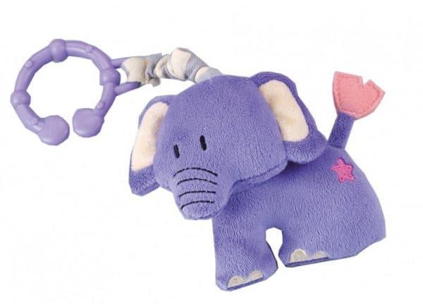 happy people kinderwagenhanger olifant 10 cm paars 321442 1570450324