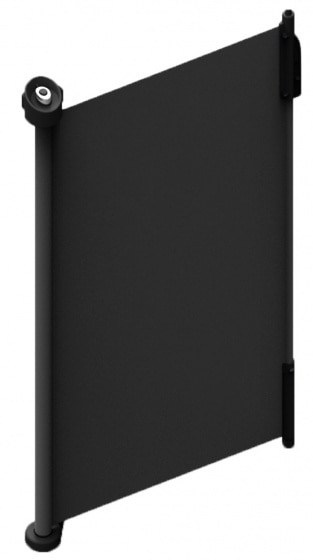 lionelo veiligheidshekje kunststof 140 cm zwart 2 339098 1575013432