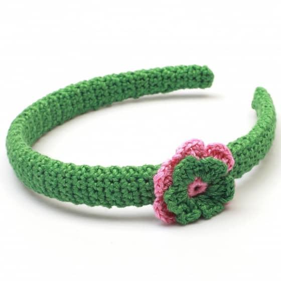naturezoo haarband bloem groen roze 333436 1573387703