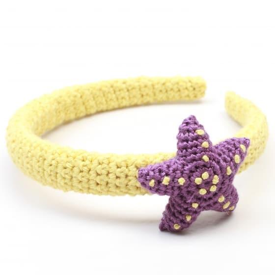 naturezoo haarband ster geel paars 333470 1573391292
