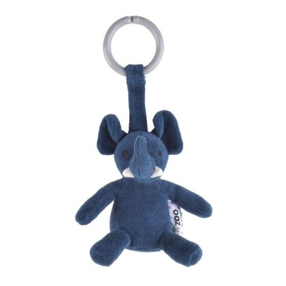 naturezoo kinderwagenhanger olifant 12 cm donkerblauw 333608 1573463553