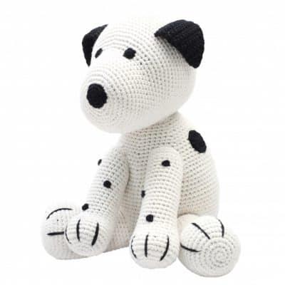 naturezoo knuffeldier hond xl gehaakt 40 cm wit 333175 1573223801