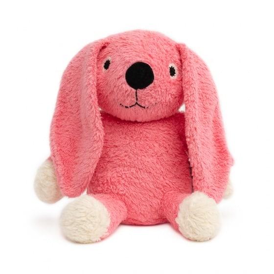 naturezoo knuffeldier konijn biologisch 18 cm roze 333520 1573456754