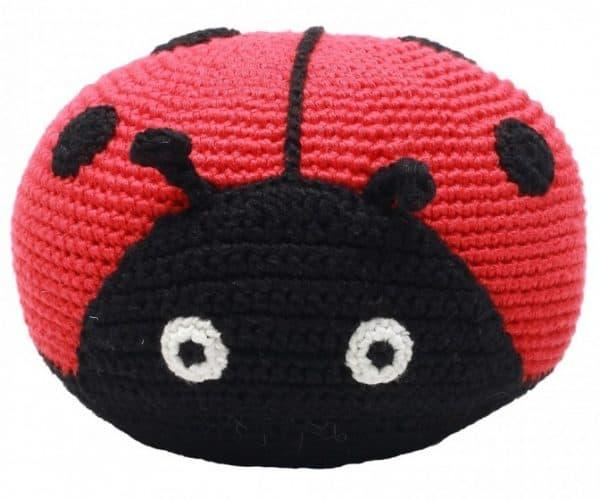 naturezoo knuffeldier lieveheersbeestje gehaakt 20 cm rood 332944 1573202875
