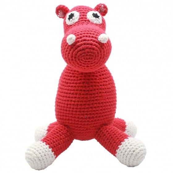 naturezoo knuffeldier nijlpaard gehaakt 20 cm rood 332894 1573199742