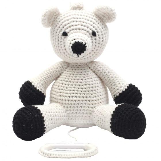 naturezoo muziekdoosje ijsbeer gehaakt 20 cm wit 339354 1575099180
