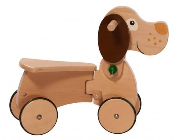 nic loopwagen combicar hond hout 26 cm bruin 357643 1580210423