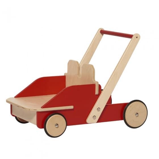 nic loopwagen hout 45 cm rood bruin 357904 1580283149