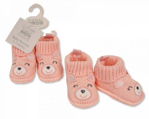 nursery time babysloffen beertje meisjes 0 6 maanden roze 2 350195 1578485765