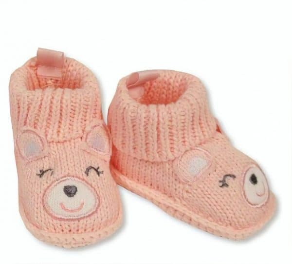 nursery time babysloffen beertje meisjes 0 6 maanden roze 350195 1578485764