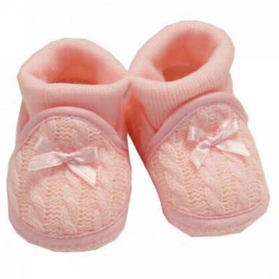 nursery time babysloffen met sokken meisjes 0 3 maanden roze 350212 1578487070