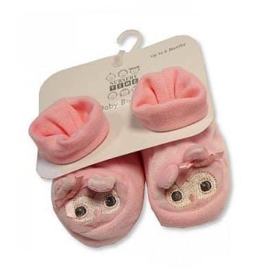 nursery time babyslofjes uil 0 6 maanden junior roze 2 348512 1577975424