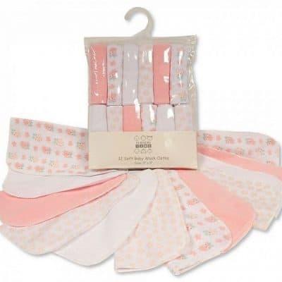 nursery time badset uil 12 delig wit roze 348675 1578039688