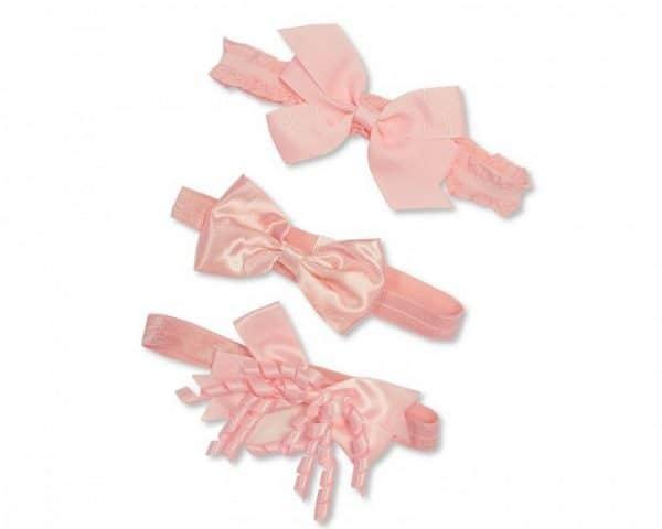 nursery time hoofdband baby 0 6 maanden set 3 delig roze 348525 1577976041
