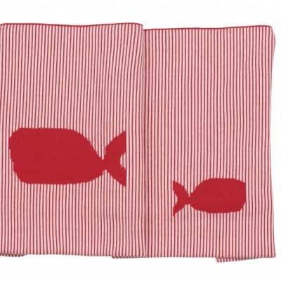 pericles wiegdeken oceaan walvis 100 x 75 cm rood wit 339213 1575023655