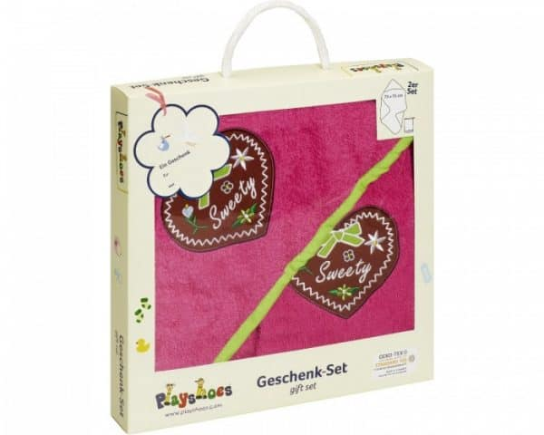 playshoes badset in cadeauverpakking sweety 2 delig roze 331101 1572611311