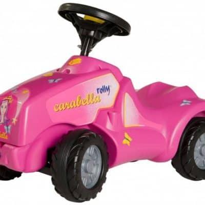 rolly toys looptractor rollyminitrac carabella meisjes roze 176372