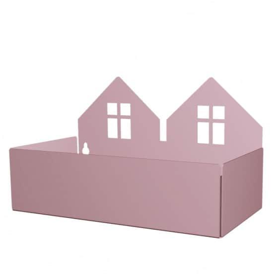roommate opbergbakjes twin house 22cm violet 345914 1576913917