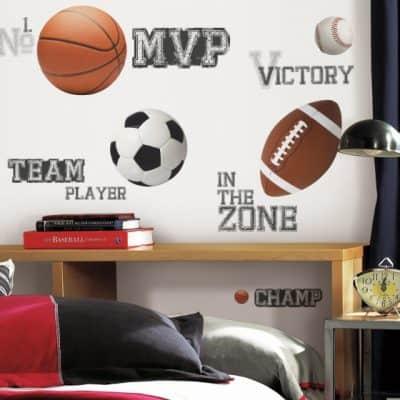 roommates muurstickers all star sports vinyl 24 stuks 2 337480 1574409080