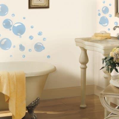 roommates muurstickers bubbels vinyl 31 stuks blauw 2 337488 1574409738