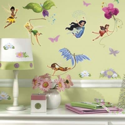 roommates muurstickers disney fairies vinyl 30 stuks 2 337171 1574322208