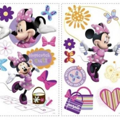 roommates muurstickers disney minnie mouse vinyl 33 stuks 326159 1571758542