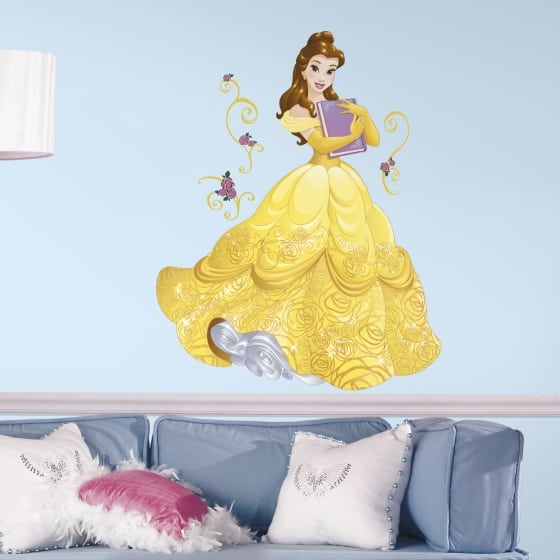 roommates muurstickers disney princess belle vinyl 13 stuks 2 349594 1578326098
