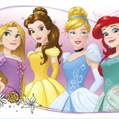 roommates muurstickers disney princess vinyl 339802 1575275335