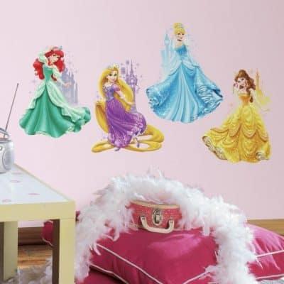 roommates muurstickers disney princesses castles vinyl 4 stuks 2 349534 1578321898