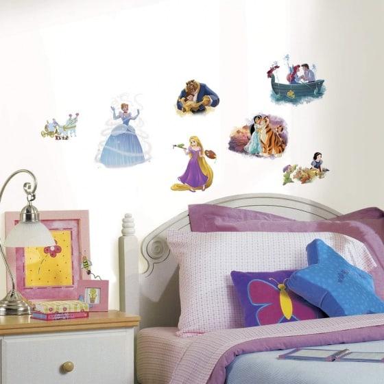 roommates muurstickers disney prinsessen vinyl 22 stuks 2 337589 1574416741