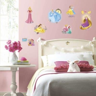 roommates muurstickers disney prinsessen vinyl 25 stuks 2 337535 1574413223