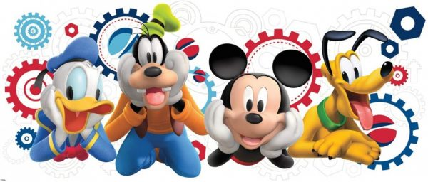 roommates muurstickers mickey friends vinyl 340677 1575537058