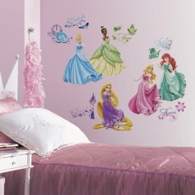 roommates muurstickers princess glitter vinyl 37 stuks 2 342393 1575992406