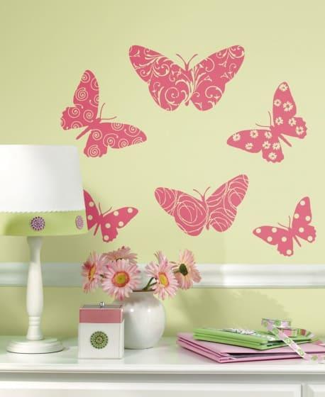 roommates muurstickers vlinders vinyl 10 stuks 2 344542 1576569564