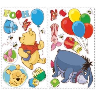 roommates muurstickers winnie the pooh vinyl 38 stuks 326149 1571756826