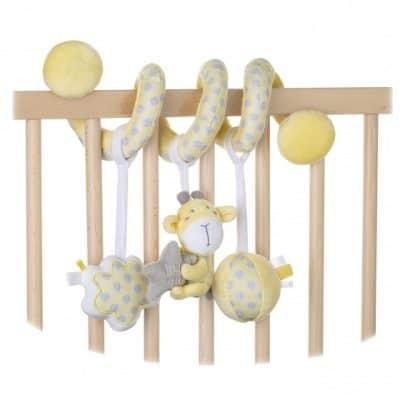 saro boxspiraal 21 cm gele giraffe 350180 1578483006