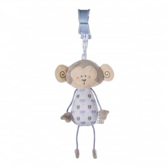 saro hangfiguur met rammelaar en trillen aapje blauw 350073 1578474031