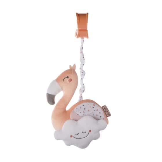 saro hangfiguur met rammelaar en trillen zalmroze flamingootje 350287 1578491226