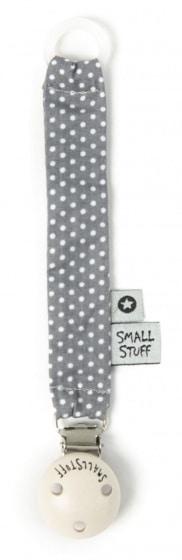 smallstuff fopspeenketting stippen katoen 19 cm grijs 345313 20191219110845