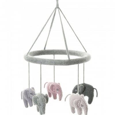 smallstuff mobiel gebreid olifanten 23 cm grijs 345888 1576855109