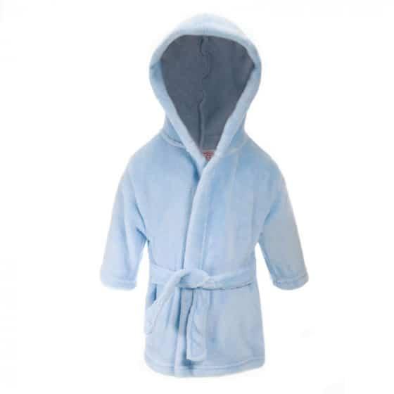 soft touch badjas met capuchon junior blauw 373616 1585316321