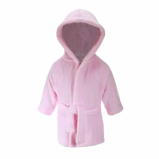 soft touch badjas met capuchon junior roze 373634 1585317750 2
