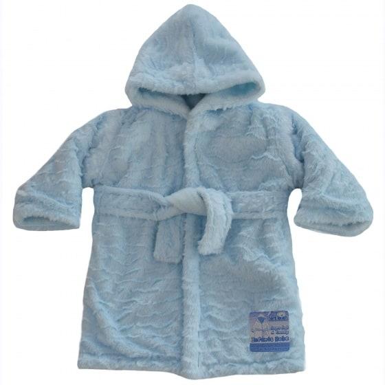 soft touch badjas waves baby 0 12 maanden blauw 354738 1579597864