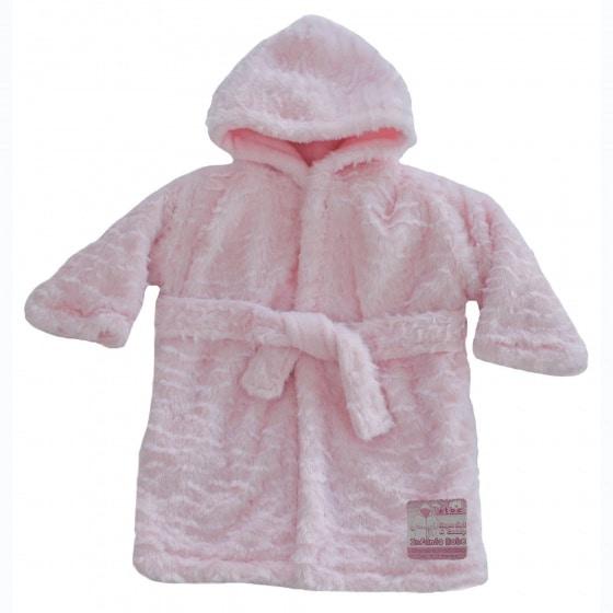soft touch badjas waves baby 0 12 maanden roze 354744 1579598068