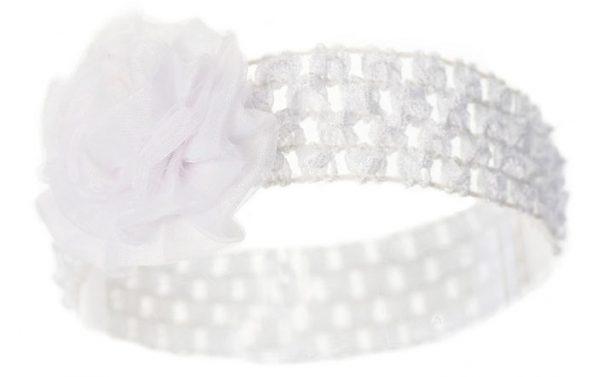 soft touch hoofdband baby bloem 0 12 maanden wit 337588 1574416723