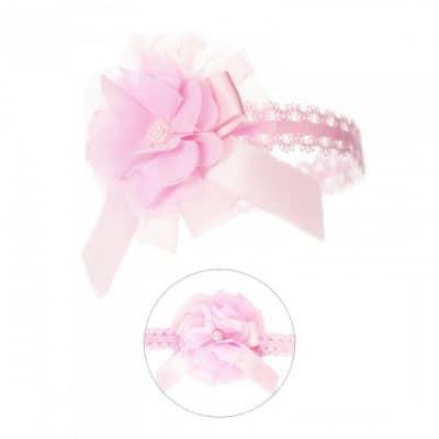 soft touch hoofdband smal baby bloem 0 12 maanden roze 2 337596 1574417304