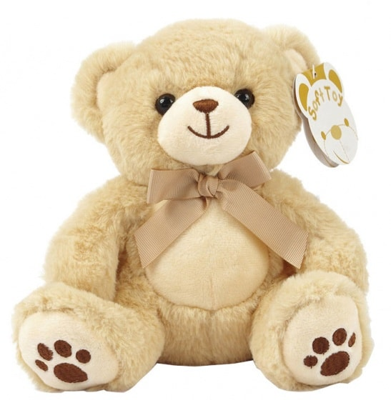 soft touch knuffelbeer paws 20 cm bruin 338717 1574773041