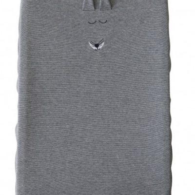 vaco aankleedkussenovertrek fox 75 cm grijs 358505 1580389917
