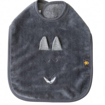 vaco slabbetje fox small 35 cm grijs 358434 1580381763